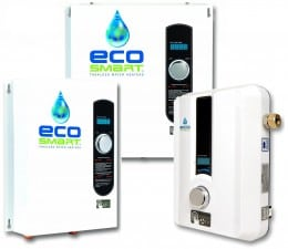 Reviewing Ecosmart electric tankless water heaters