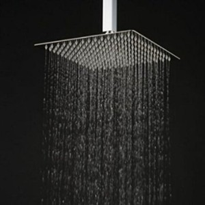 YAWALL 12 inches Ultra-thin Rain Ceiling Shower Head Review