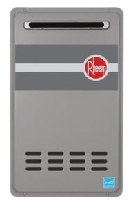 Rheem RTG-84XLN outdoor tankless water heater review