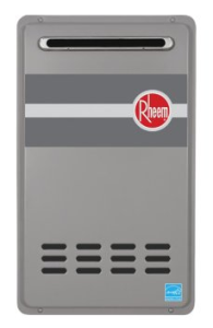 Rheem RTG-95XLN outdoor tankless water heater review