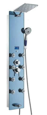 "Blue Ocean 52"" Stainless Steel SPV878392H Shower Panel review"