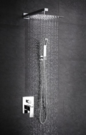 SR SUN RISE Luxury 12 Inch rainfall Shower Head review
