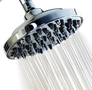 WantBa 6 Inches Massage (57 Jets) Rainfall High Pressure Shower Head review