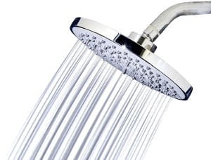 Luxe 8 inch high pressure Rainfall Shower Head review
