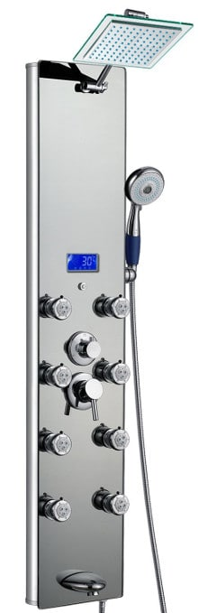 blue ocean SPA392M Shower panel tower review